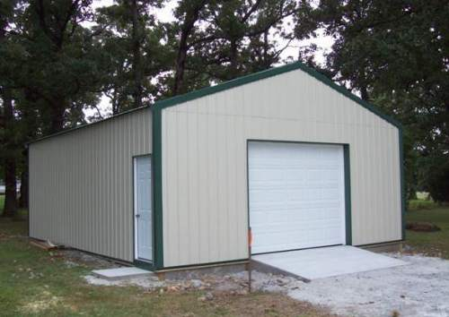 24x30 pole barn good will builders inc for Pacchetto garage 24 x 30
